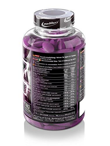 IronMaxx Krea7 Superalkaline / Kreatin-Tabletten von IronMaxx für höhere körperliche Leistung / 1 x 180 Tabletten