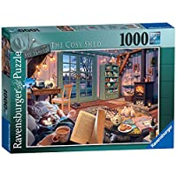 Ravensburger-My-Haven-Nr-6-Puzzle-The-Cosy-Shed-1000-Teile