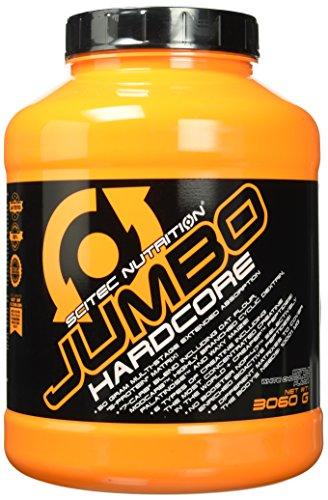 Scitec Nutrition Jumbo Hardcore Krokant – Weisse Schoko, 1er Pack (1 x 3.06 kg)
