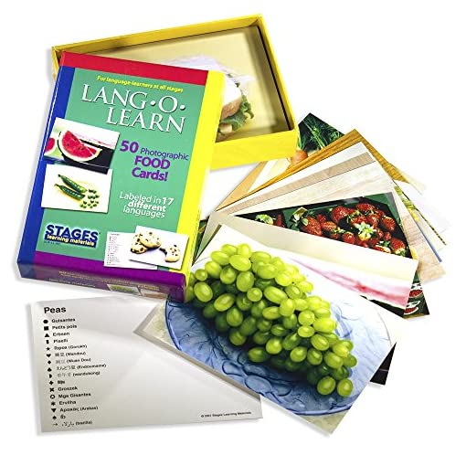 Lang-O-Learn-Cards-Food-Pack-of-50