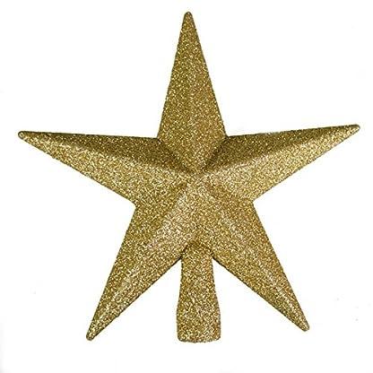 Glitzer-Finish-Tree-Top-Star-20-cm
