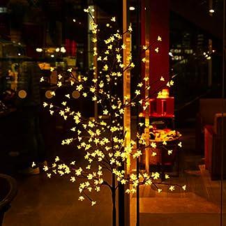 CCLIFE-LED-Kirschbltenbaum-Baum-mit-Blten-Bltenbaum-warmweikaltwei-Indoor-Outdoor-Lichterdeko-LED-Bumchen