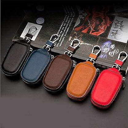 BeneU-Autoschlssel-Signal-Blocker-Tasche-Multifunktions-Leder-Autoschlssel-Tasche-PU-Leder-Ring-Halter-Abdeckung-Fr-Autoschlssel-Keyless-Schlssel-Tasche-Signal-Blocking-Pouch-Schlssel-Fall
