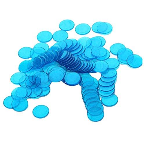 100pcs-Kunststoff-Bingo-Chips-Chip-Poker-Bingo-Spiele-Chips-Brettspiel-3cm