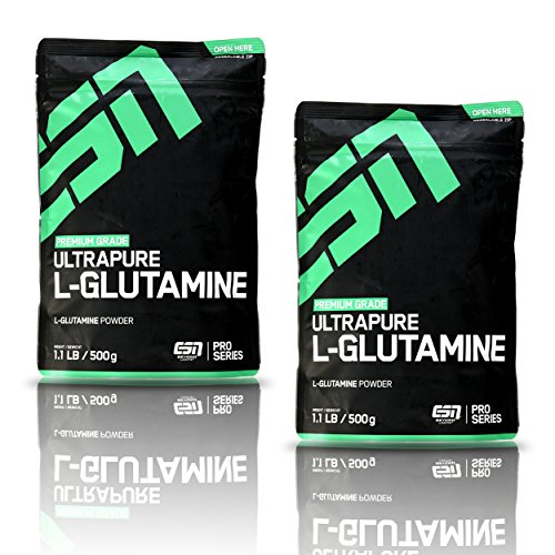 ESN Ultrapure L-Glutamine Powder – 2er Pack (2x 500 g)