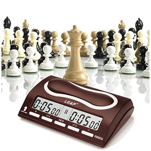 Joyeee-Analoge-Professioneller-Wettbewerb-Uhr-Schachuhr-Zeitgeber-Digital-Chess-Clock-Count-Up-Down-Uhr-Timer-fr-Board-Schach-Spiel-Player-1