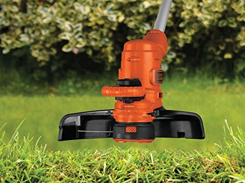BlackDecker-3-in-1-Multi-Trimmer-Kit-550-W-Rasenkantenschneider-Motorsense-30-cm-Schnittbreite-inkl-Rasenmher-Chassis-CM100-10-m-Verlngerungskabel-ST5530CMCAK