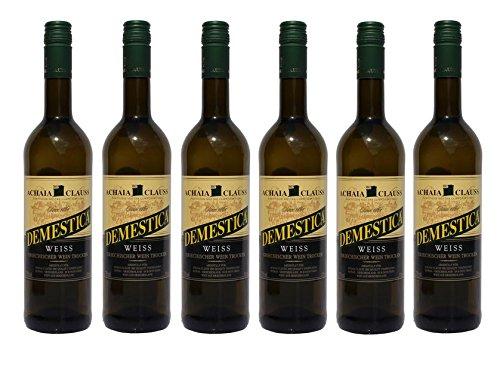 6x-Demestica-je-750-ml-griechischer-Weiwein-trocken-Achaia-Clauss-12-2-Probier-Sachets-Olivenl-aus-Kreta-a-10-ml-griechischer-weier-Wein-Tafelwein