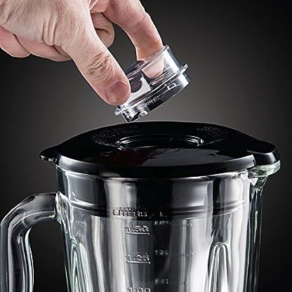 Russell-Hobbs-23821-56-Glas-Standmixer-Steel-2-in-1-Smoothie-Maker-inkl-To-Go-Becher-mit-Deckel-08-PS-Motor-22400-Umin-15l-Edelstahl
