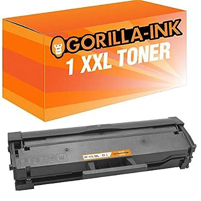 Gorilla-Ink-1-Toner-Mega-XL-ersetzt-Samsung-MLT-D111L-Xpress-M2020W-M2021W-M2022-M2026-M2070F-M2070FW-M2070W-M2071W-M2071HW-M2071FW-M2078F-M2078FW-3000-Seiten-200-mehr-Druckleistung
