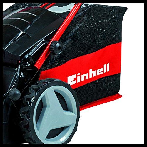 Einhell-Akku-Rasenmher-GE-CM-3647-HW-Li-2x40Ah-Power-X-Change-Li-Ion-bis-500-m-Flche-Highwheeler-6-stufige-Schnitthhenverstellung-Mulchadapter-inkl-2×40-Ah-Akku-und-2x-Ladegert