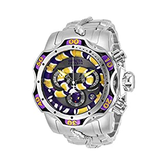 Invicta-Herren-Analog-Quarz-Uhr-mit-Edelstahl-Armband-32040