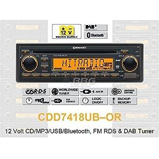 Continental-CDD7418UB-OR-CDMP3-Autoradio-mit-Bluetooth-DAB-USB-AUX-IN