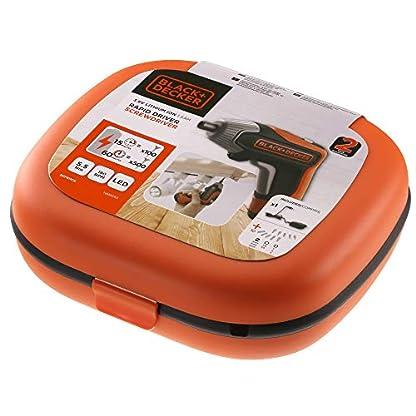 BlackDecker-Akku-Schrauber-36-Volt-55-Nm-mit-LED-Licht-handlicher-Schrauber-fr-kleinere-Schraubarbeiten-in-Aufbewahrungsbox-inkl-USB-Schnell-Ladegert-und-10-Schrauberbits-25mm-BCF611CK