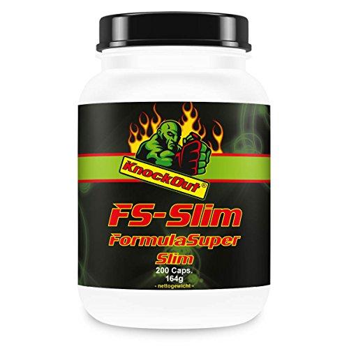 Formula Super Slim, Appetit hemmend, thermogenetische Gewichtskontrolle, by Knock-Out-Nutrition, mit Zink und Kelp
