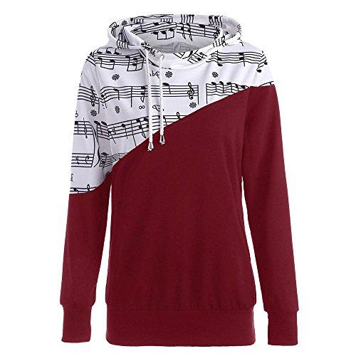 Damen-Kapuzenpullover-Mumuj-Fashion-Mdchen-Musikalische-Noten-Drucken-Kapuzenpullover-Sweatshirt-Pulli-Ombre-Noten-Drucken-Knguru-Kapuzenpullover-Stitching-Hit-Color-Hooded-Sweater