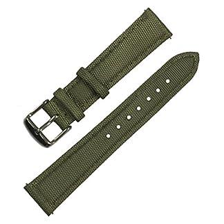 Ersatz-Uhrband-aus-Nylonsegeltuch-mit-Unterseite-aus-Narbenleder-und-Edelstahl-Schnellverschluss