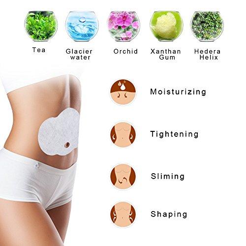 Diät Patches, 3 pcs Schlank Wonder Patches natürliche Inhaltsstoffe Bauch Bauch Bein Arm Gewichtsverlust und Cellulite Entfernung Fettverbrennung Schlank
