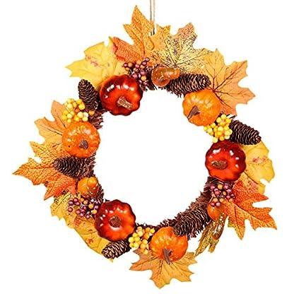Herbst-Kranz-Tischkranz-Deko-Mit-Leichtem-Krbis-Trkranz-Wandschmuck-Simulation-Ahornblatt-Kranz-Pelz-Thanksgiving-Halloween-Weihnachtsdekoration-Anhnger-Kranz-35cm