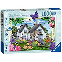 Ravensburger-19496-Country-Collection-Delphinium-Cottage-Puzzle-1000-piece
