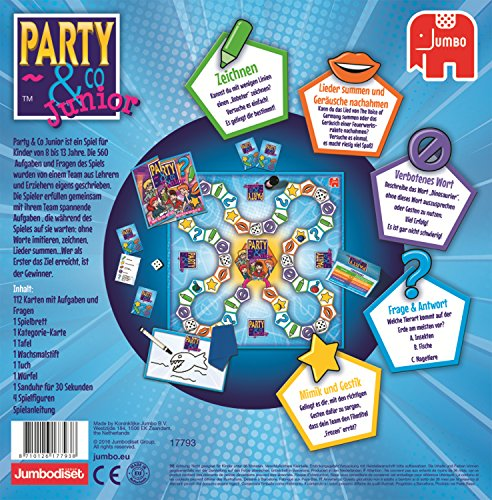 Jumbo-Spiele-17793-Party-Co-Junior-Spiel
