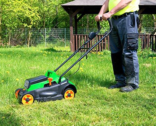 AGT-Professional-Motor-Rasenmher-Akku-Rasenmher-32-cm-Messer-4-stufige-Schnitthhe-25-l-Ohne-Akku-Elektrisches-Garten-Werkzeug