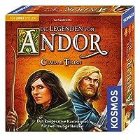 KOSMOS-Die-Legenden-von-Andor-692537-Chada-und-Thorn-Spiel-fr-zwei-Strategiespiel