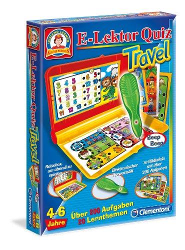 Clementoni-695409-E-Lektor-Quiz-Travel