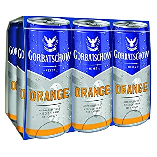 Gorbatschow-Orange-Wodka-Dose