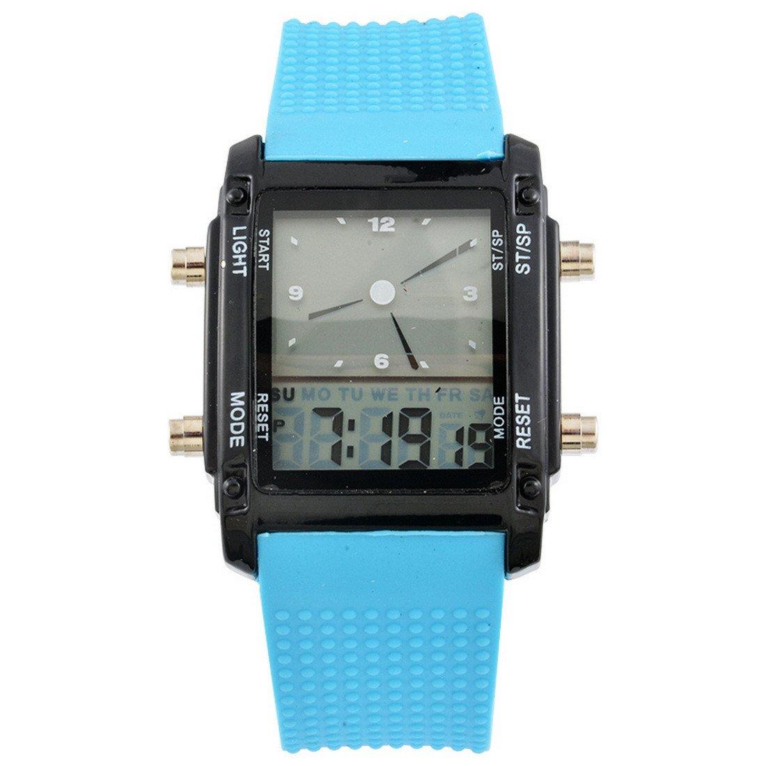 rainbabe-Rechteck-Zifferblatt-Sport-LED-Luminous-Dual-Smart-Armbanduhr-mit-Gummi-Watchband-26-cm