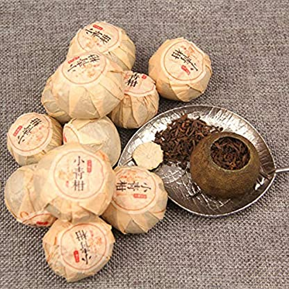 Yunnan-Puerh-Tee-Xinhui-Citrus-Puer-Tee-kleine-grne-Zitruspu-er-gekochter-Tee-Boxed-100g-022LB-Puer-Tee-Schwarzer-Tee-Chinesischer-Tee-Pu-er-Tee-Reifer-Tee-Pu-erh-Tee-Pu-erh-Tee-Roter-Tee