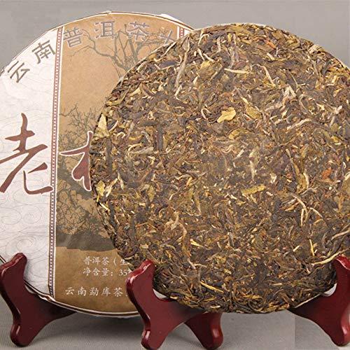 Roher-Pu-erh-Tee-357g-0787LB-Natrlicher-organischer-Tee-China-Puer-Tee-Gesundheit-grner-Tee-Puer-Tee-Chinesischer-Tee-Pu-er-Tee-Roher-Tee-Puerh-Tee-Grnes-Lebensmittel-Alte-Bume-Pu-erh-Tee