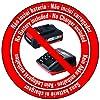 Einhell-Akku-Rasentrimmer-GE-CT-18-Li-Solo-Power-X-Change-Lithium-Ionen-18-V-240-mm-Schnittkreis-20-Kunststoffmesser-ohne-Akku-und-Ladegert