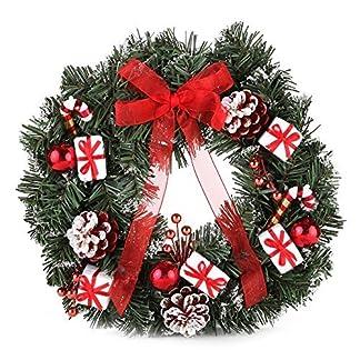 Home-x-festlichen-Rot-und-Wei-Weihnachten-Kranz
