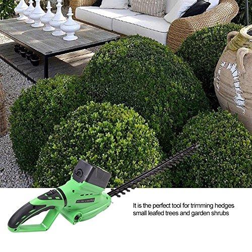 Zerodis-Heckenschere-18V-Rasenmher-Grasscheren-Strauchscheren-Lithium-Freischneider-Gartengerte-Grasscherblatt-mit-Verstellbarem-Griff