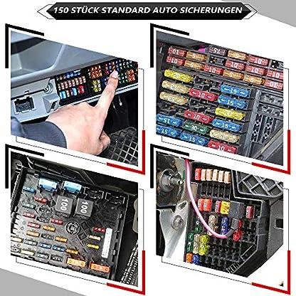 Rovtop-150-Stck-Standard-Auto-Sicherungen-KFZ-Sicherungen-Set-magebend-Autosicherungen-2A-3A-5A-75A-10A-15A-20A-25A-30A-35A-mit-1-Sicherungszieher