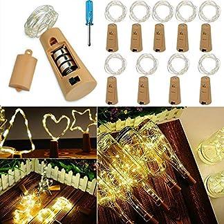 VIPMOON-Led-Flaschenkorken-Lichter-10-Stck-2m-66ft-batteriebetriebene-Silberdraht-LED-Fairy-String-Licht-mit-20Leds-und-OnOff-Schalter-fr-Heimtextilien-Flasche-DIY-Dekor