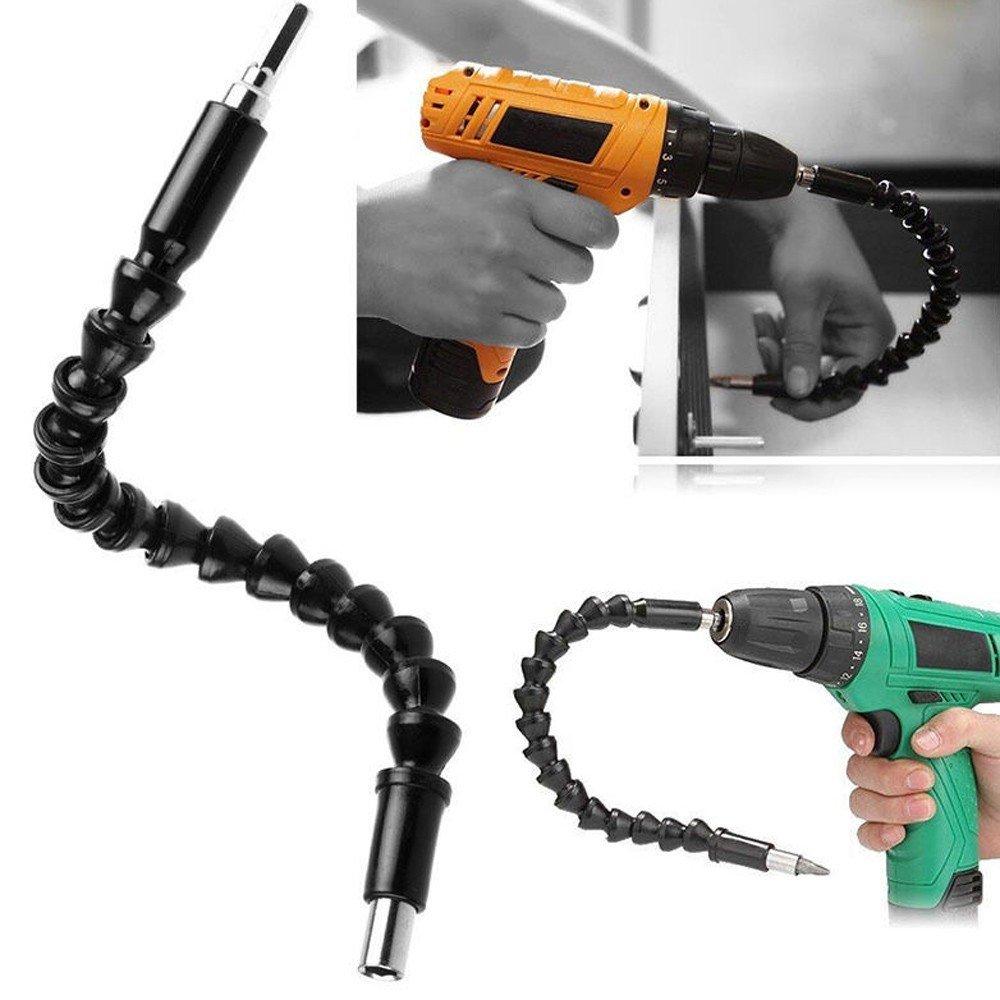 Winkelaufsatz-fr-AkkuschrauberAbout1988-Bohrmaschine-und-Schraubenzieher-Biegsame-flexible-Verlngerung-als-Winkelvorsatz-Adapter