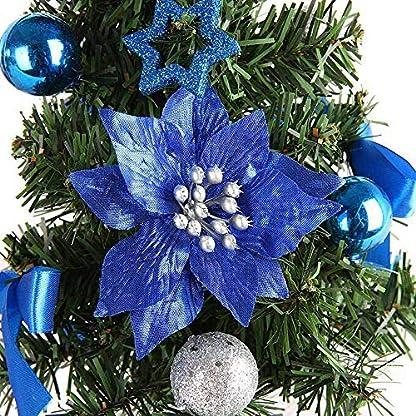 Vektenxi-Knstlicher-Weihnachtsbaum-Handgemachte-Mini-Schreibtisch-Weihnachtsbaum-Festival-Miniatur-Baum-fr-Weihnachtsdekoration-1-STCK-Blau-Langlebig-und-Praktisch