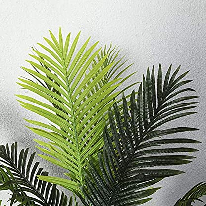 LYWIR-Knstlicher-BaumOrientalischer-grner-lebender-Baum-Schnitt-knstlich-Reale-realistische-knstliche-BorkebltterOhne-Becken