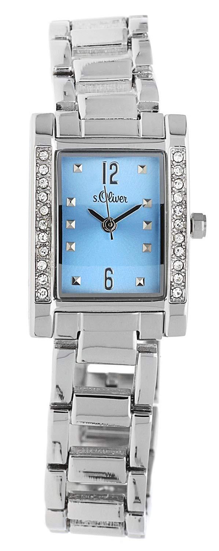 sOliver-Damen-Armbanduhr-Metall-Analog-Quarz