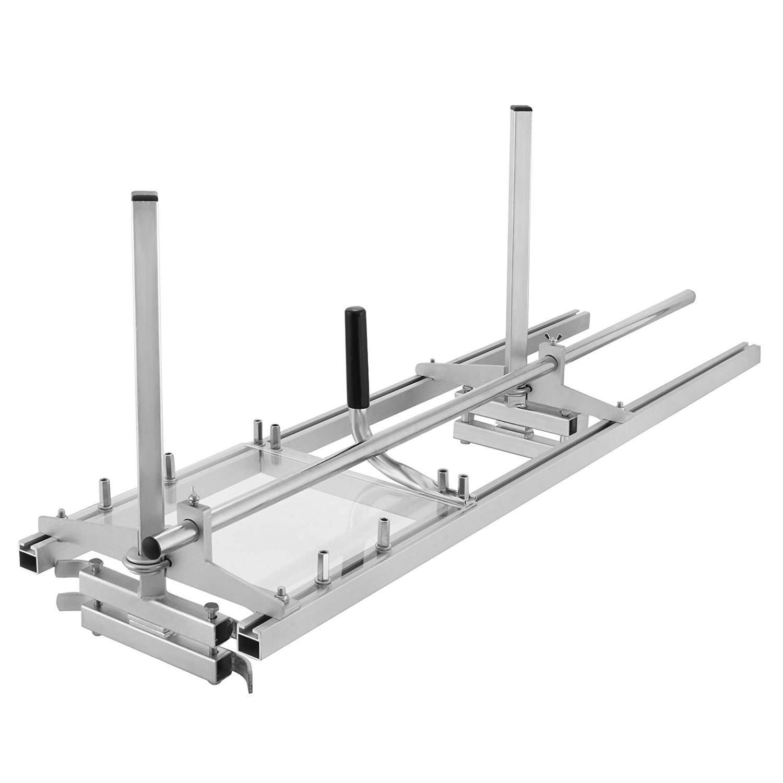 HUKOERChainsaw-Mill-48-Zoll-tragbare-Kettensge-Mhle-Aluminium-Stahl-Mig-Schweien-Sgewerk-18-48-Planking-Lumber-Cutting-Bar
