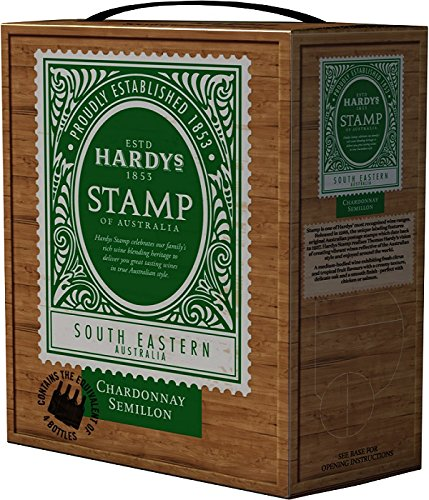3-x-HARDYS-STAMP-SEMILLON-CHARDONNAY-Bag-in-Box-3-Liter