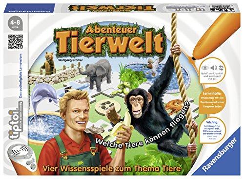 Ravensburger-00513-Tiptoi-Spiel-Abenteuer-Tierwelt