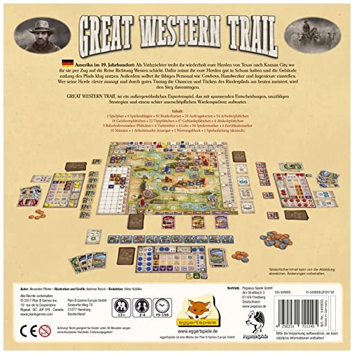 Pegasus-Spiele-54590G-Great-Western-Trail