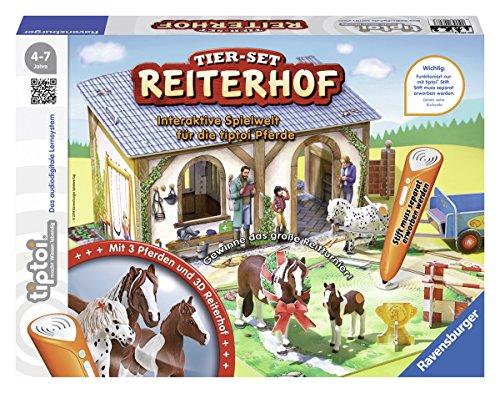 Ravensburger-00707-Tiptoi-Tier-Set-Reiterhof