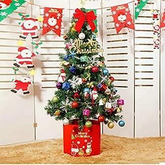DWHX-Grn-Knstlicher-Weihnachtsbaum-Kiefer-Mit-Dekoration-15m-49-Ft-Scharnier-Tannenbaum-Christbaum-Metall-Beine-Ganz-Einfach-Aufbauen-Xmas-Tree-Fr-Shopping-mall-Fenster