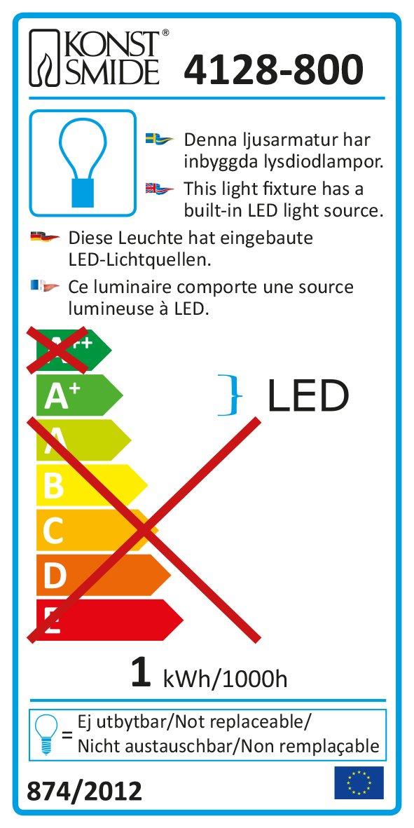 LED-Sturmlaternenkette