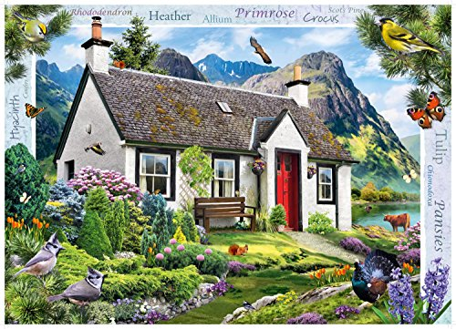 Ravensburger-15163-Country-Collection-Nr-12-See-Cottage-Puzzle