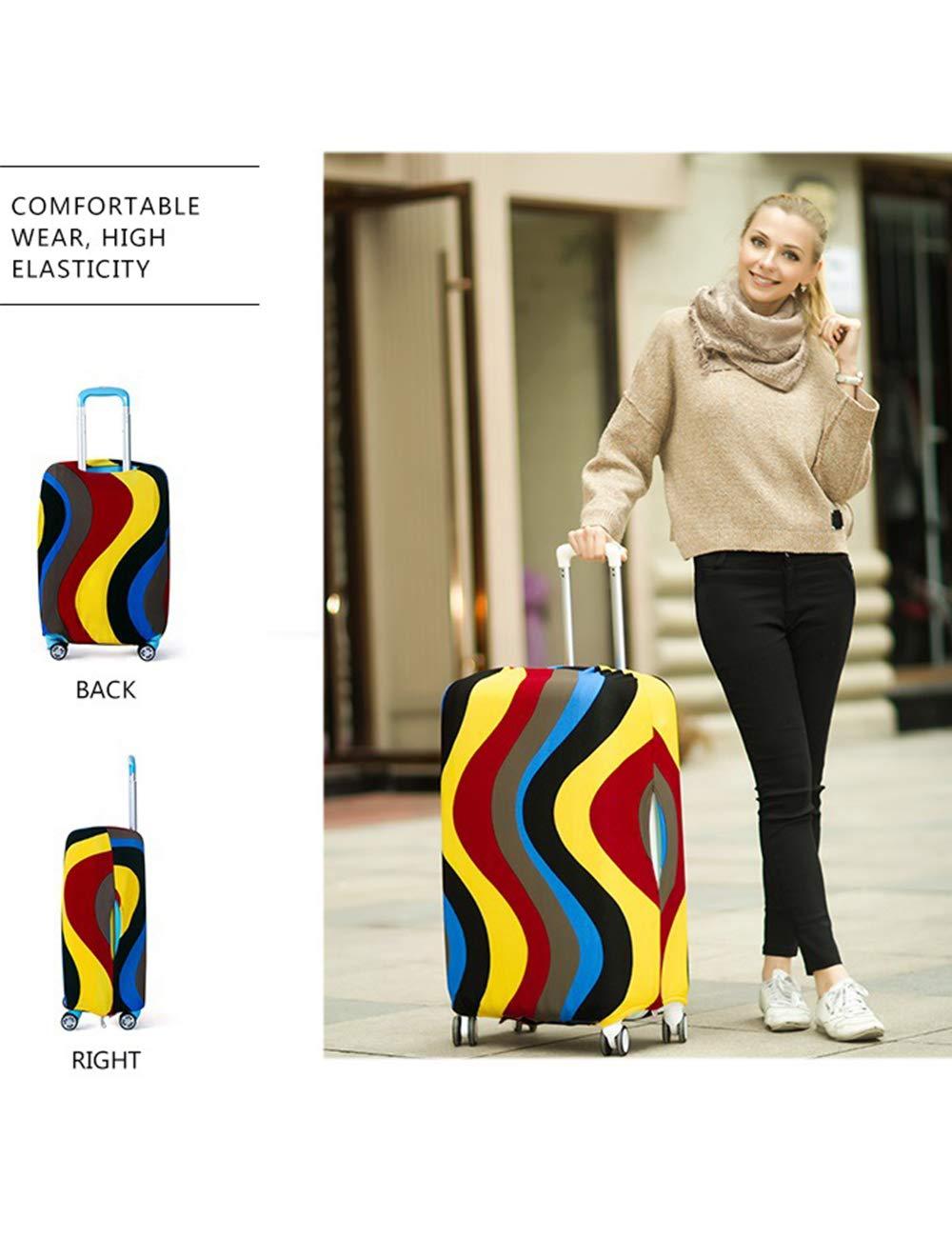 besbomig-Koffer-Schutzhllen-Elastisch-Reisetasche-Staub-Aufbewahrungsbox-Rollender-Koffer-Schutz-Wasserdicht-Klein-Mittel-Gro